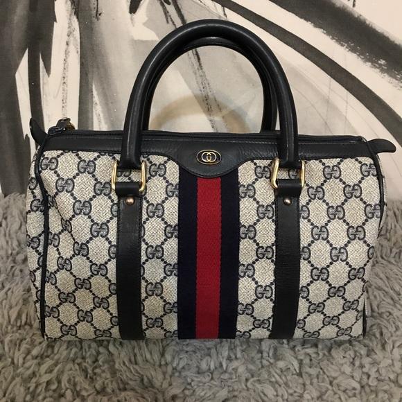 01797f06d12 Gucci Handbags - Authentic Gucci Boston Bag (Speedy 30 Size)
